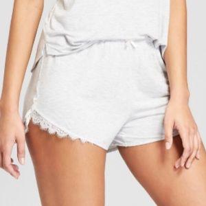 NWOT Heather Grey PJ Shorts